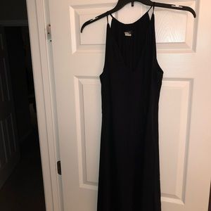 J.Crew black silk dress, size 8